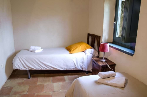 Accommodation in a villa / house for 4 people