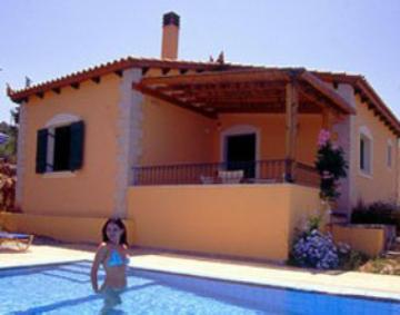 Rent villa / house  greece