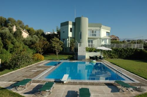 Steps into pool villas