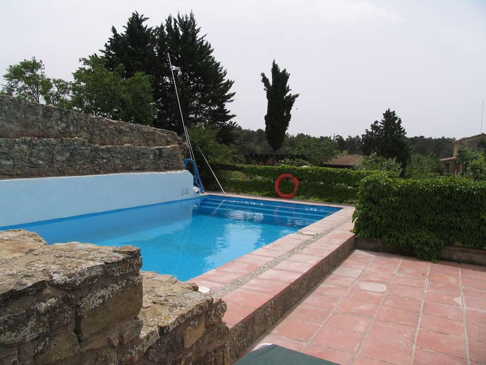 Villa / maison avec piscine commune