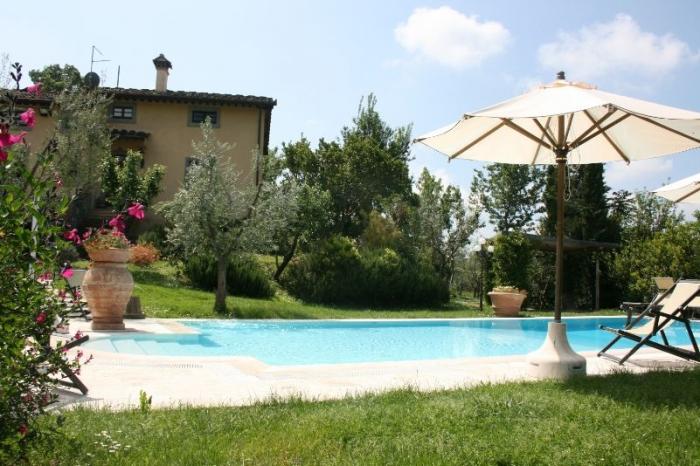 Villa / Haus Li olivi zu vermieten in Castiglion Fiorentino