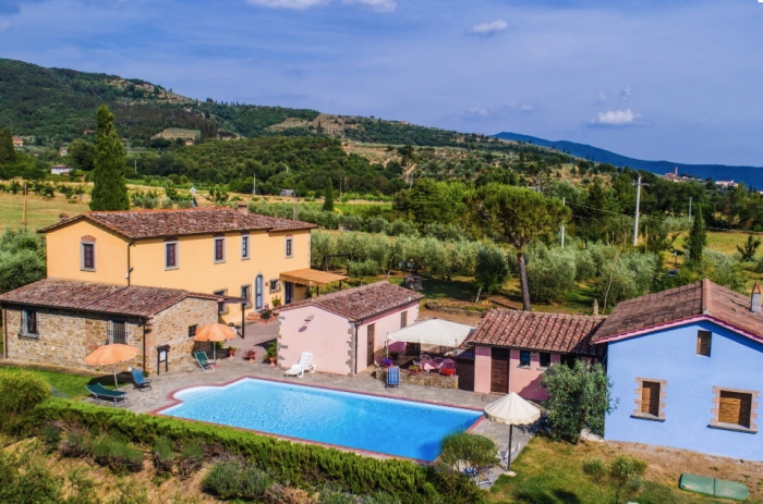 Accommodation in a villa / house  la crosticcia - oliveto to rent in Castiglion Fiorentino