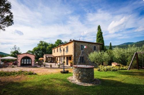 Reserve accommodation in a villa / house  la crosticcia - oliveto