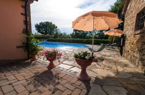 Accommodation in a villa / house  la crosticcia - oliveto to rent in castiglion fiorentino