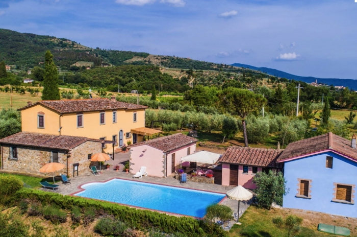 Accommodation in a villa / house La crosticcia - il rio to rent in Castiglion Fiorentino