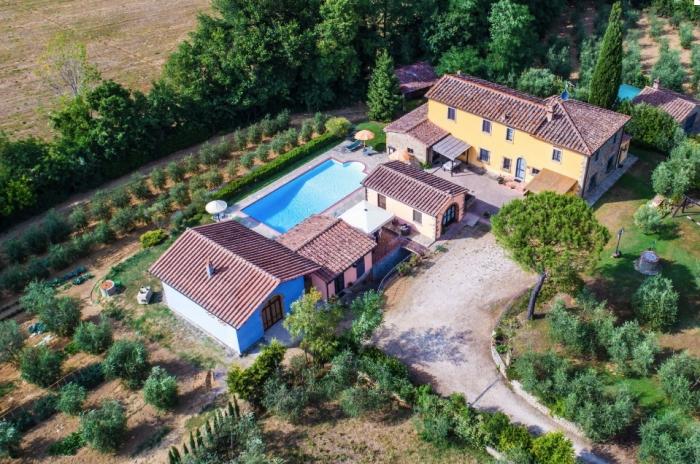 Villa / Haus La crosticcia - il poggetto zu vermieten in Castiglion Fiorentino