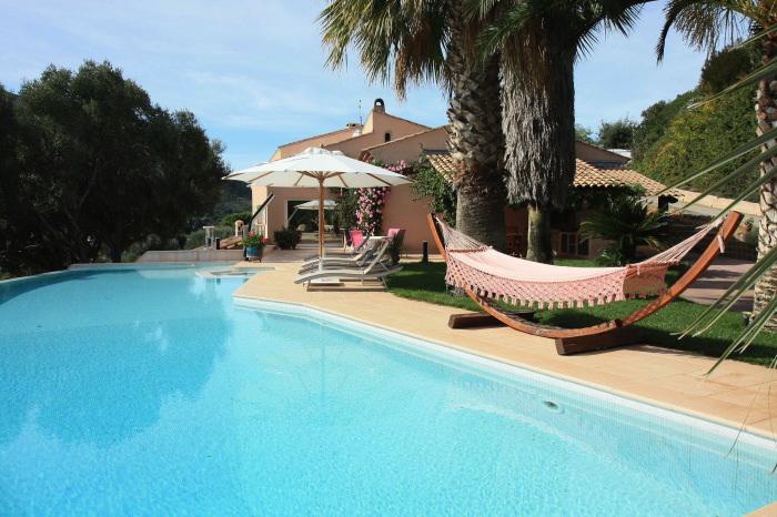 Location villa ajaccio 8 personnes ajx66 - Villa corse du sud ...
