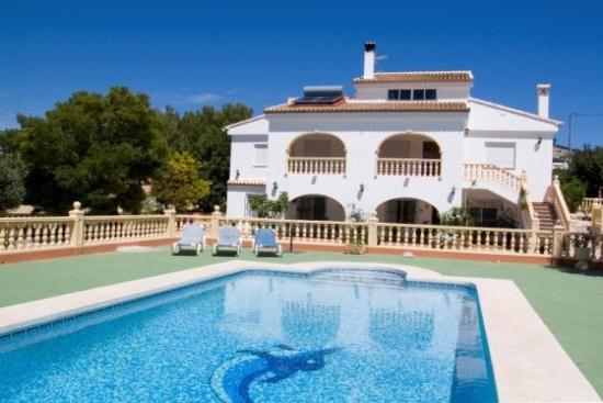 Location villa calpe 10 personnes cal802 for Villa avec piscine espagne