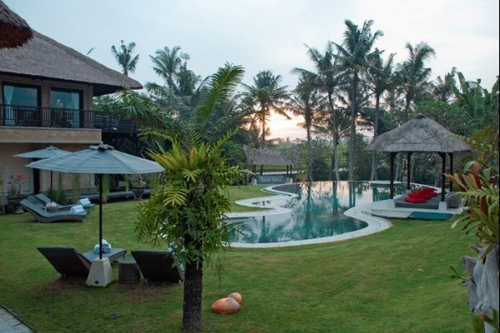 Bali : BALI1007 - Palm river