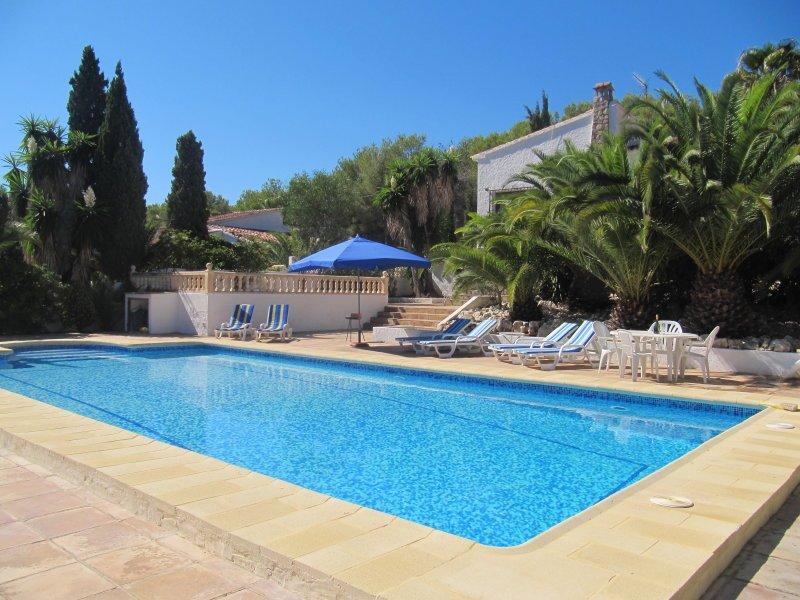 Location villa moraira 6 personnes san608 - Villa a louer casa do dean ...