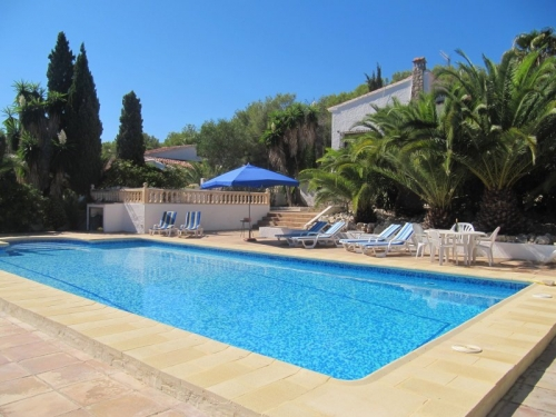 villa à Moraira, vue : piscine
