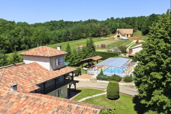 Villa / Haus La chatronnie zu vermieten in Lacropte