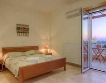 Accommodation in a villa / house with shared pool