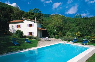 Villa / house Lavanda to rent in Bagni di Lucca