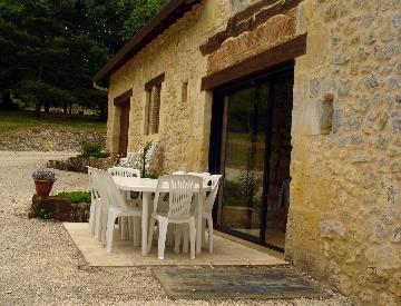 Independent house entre sarlat et bergerac to rent in monsac