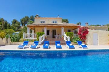 Villa / Maison Chossa à louer à Moraira