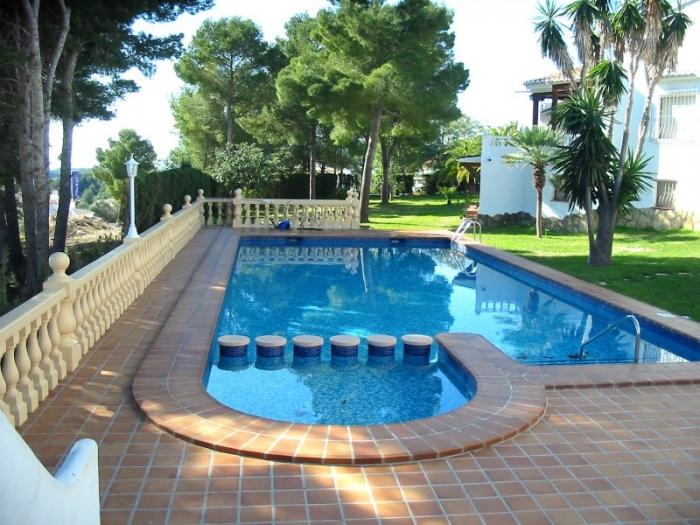 Landhaus / Reihenhaus Casa blanca zu vermieten in Moraira