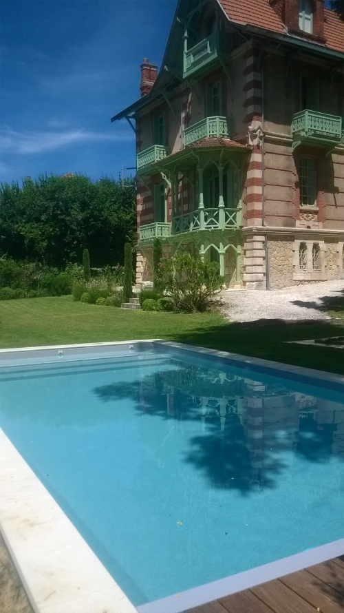 Reserve villa / house arcachon-plage à pied
