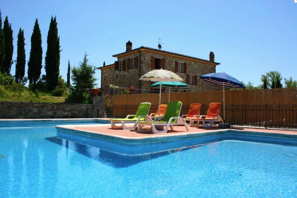 Villa / house Fosca to rent in Lucignano