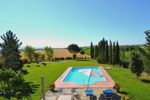 villa in Cortona, view : Countryside