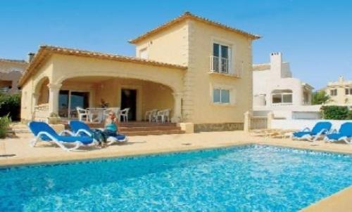 Villa / Maison MADERA à louer à La Nucia