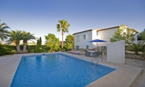 Independent house bernia to rent in la nucia