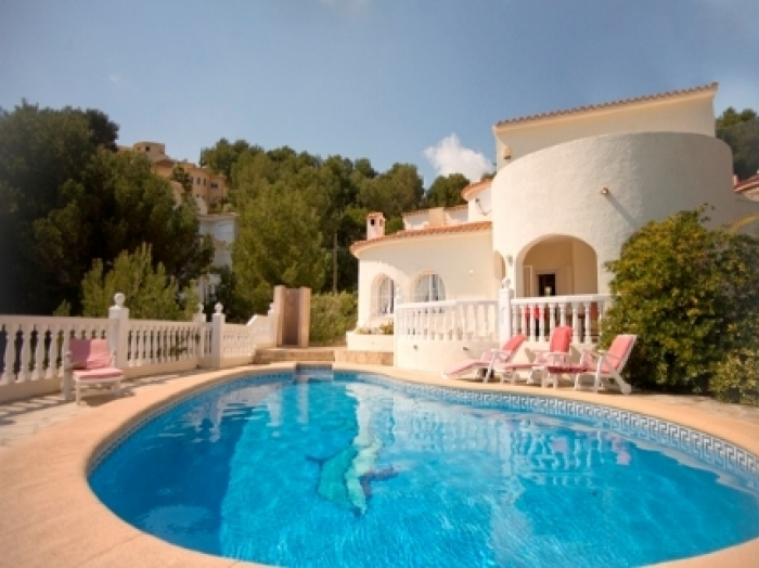 Villa / house JUDITH to rent in Altea