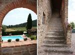 Villa / haus il pasqualino zu vermieten in arezzo