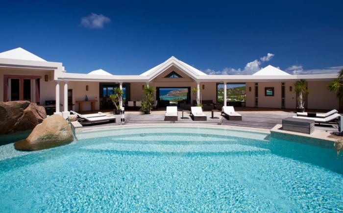 Villa / house Ar to rent in Gustavia