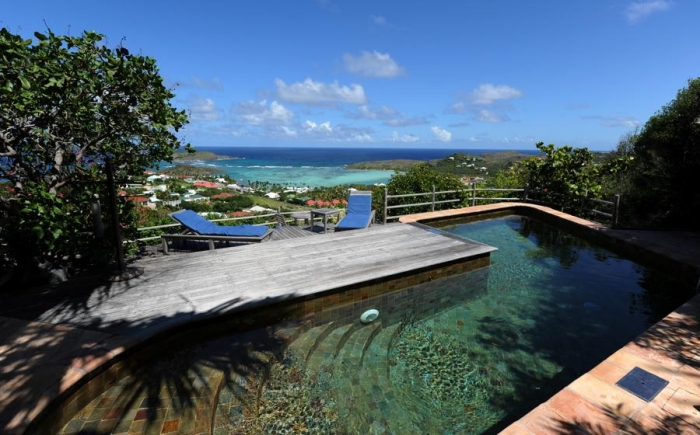 Villa / house Ky to rent in Gustavia