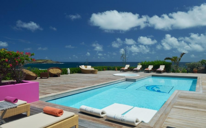 Villa / house Vr to rent in Gustavia