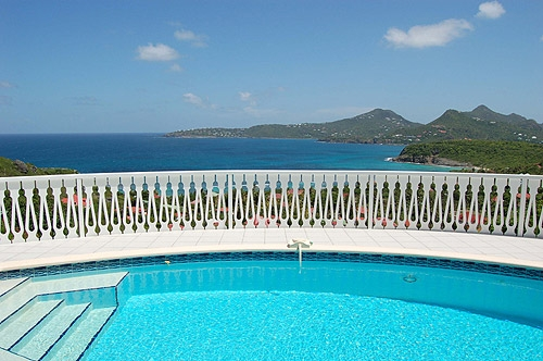 Villa / house Ec to rent in Gustavia