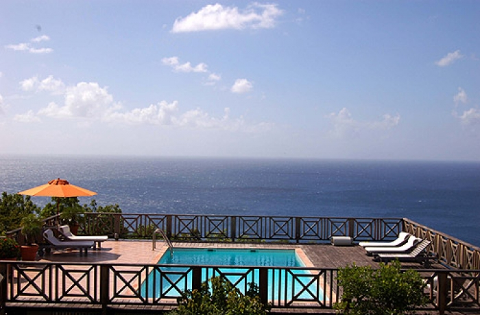Villa / house Av to rent in Gustavia