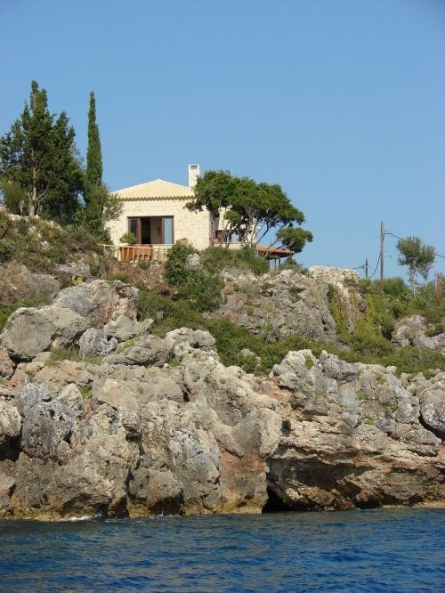 Grecja : GCP203 - Jacuzzi surplombant la mer
