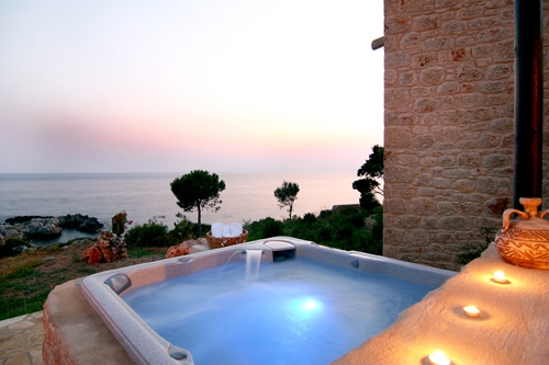 Villa / house Jacuzzi et vue mer to rent in Stoupa