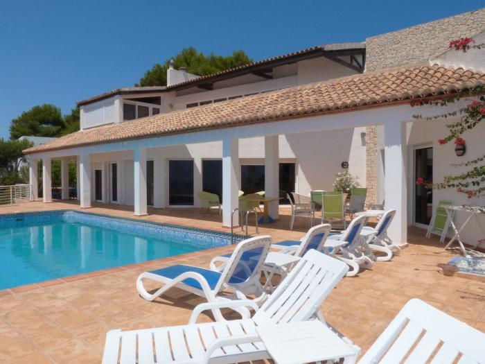 Villa / Maison luxe Un balcon sur la mer