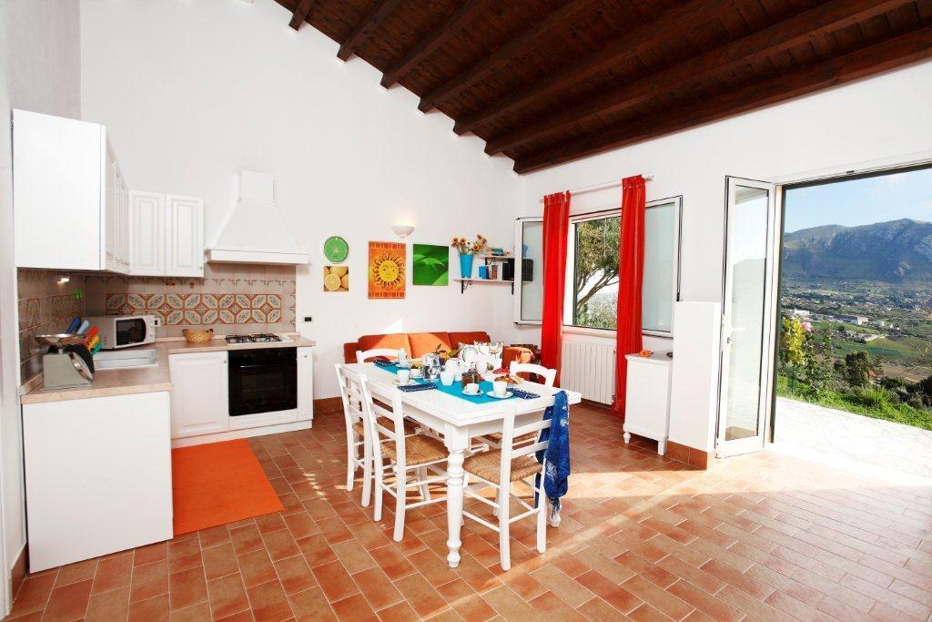 Villa / house rosa dei venti to rent in scopello