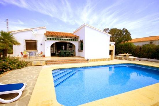 Location villa javea 6 personnes sun637 - Villa a louer casa do dean ...