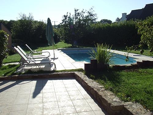 Villa / house les sables blancs to rent in concarneau