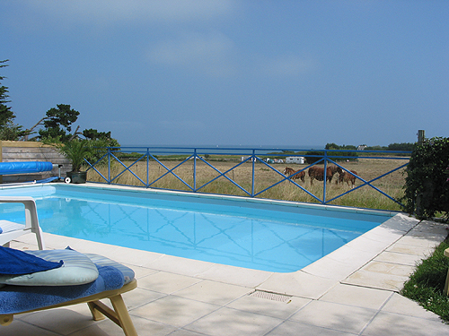 Location villa quiberon 8 personnes b991 for Piscine quiberon