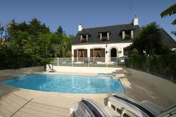 Villa / house La bambouseraie to rent in La Foret Fouesnant