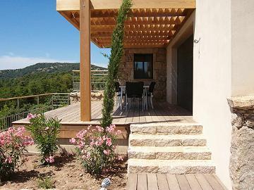 Réserver villa / maison proche cala rossa