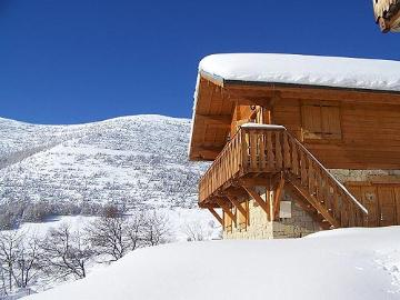 Property chalet mini ski