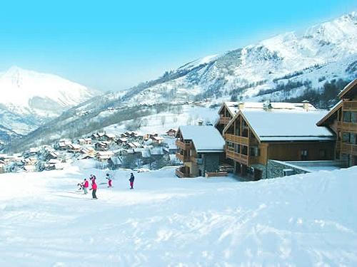 Ski from door chalets