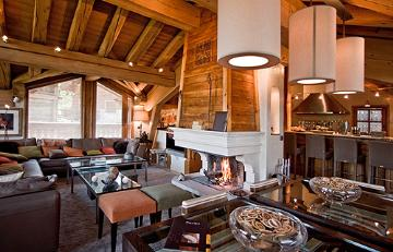 Luxury catered ski chalets in France