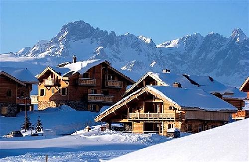 Chalet piste bleue dhb to rent in alpe d'huez