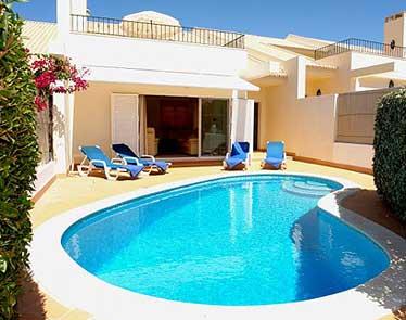 Location villa almancil 6 personnes spa623 al933 for Location villa piscine portugal