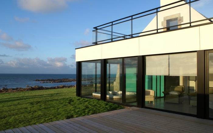 Location villa plouescat 8 personnes ple801 for Achat maison bretagne vue mer