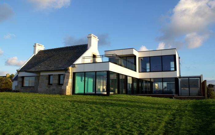 Location villa plouescat 8 personnes ple801 for Location maison de vacances de luxe