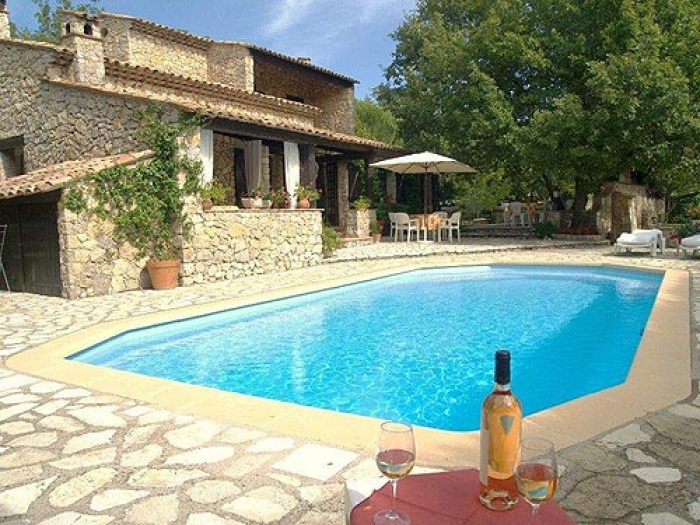 Villa / Haus L'estivale zu vermieten in Saint Cezaire sur Siagne